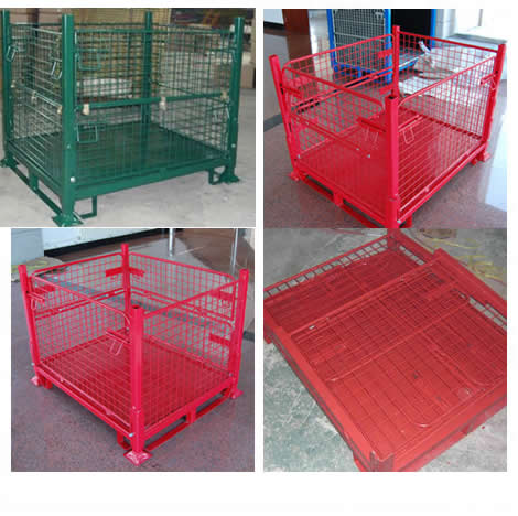 PVC Powder Coated Wire Mesh Baskets