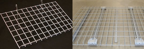 Modular Grid Wire Shelving: Wire Grid Panels